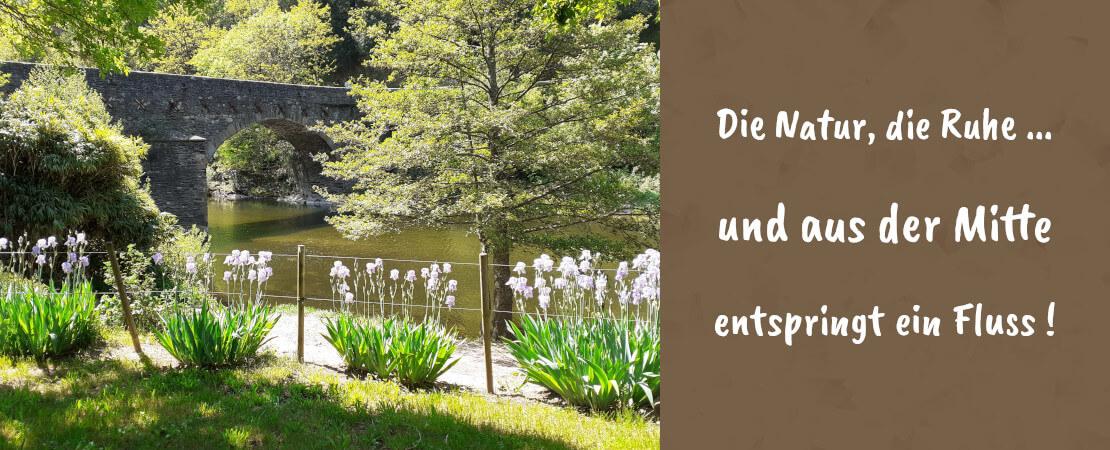 Naturcampingplatz bei Florac in Lozere in den Cevennen²