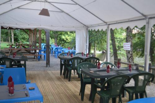 Photo d'une terrasse du restaurant